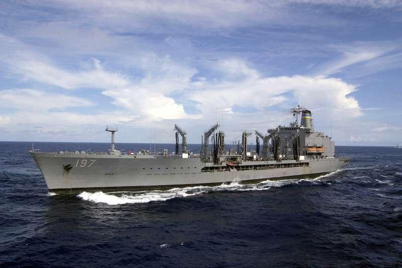 美軍補給艦「佩科斯號」(USS Pecos)(Wikipedia / Public Domain)