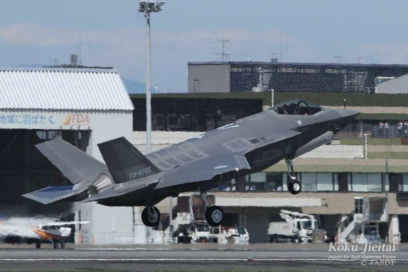 日本航空自衛隊的F-35A。(航空自衛隊官網)