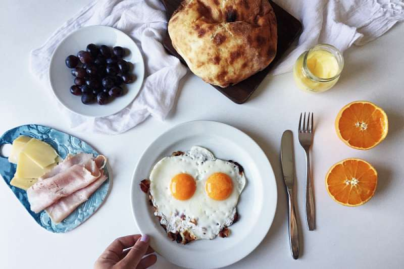 一日之計在於晨,冬天減肥,高質量的早餐很重要。(圖/澎湃新聞提供)