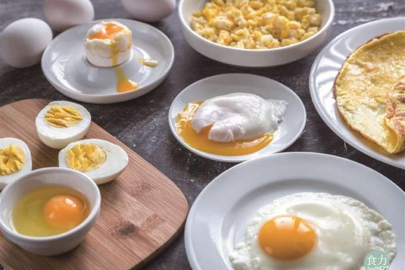雞蛋作為食材,頻繁的出現在每日飲食中。(圖/食力提供)