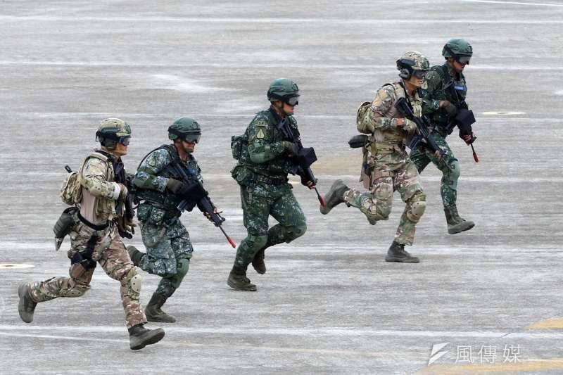 科技醫療的快速發展,在軍隊之中也出現新的應用(圖 /蘇仲泓攝)