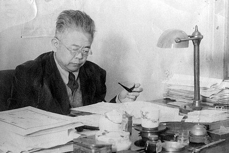 台灣大學第四任校長傅斯年。(圖片取自維基百科)