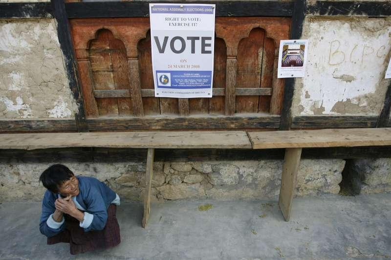 對不丹國民來說,民主似乎未必帶來快樂,反而增添痛苦。(圖/路透社|*CUP提供)