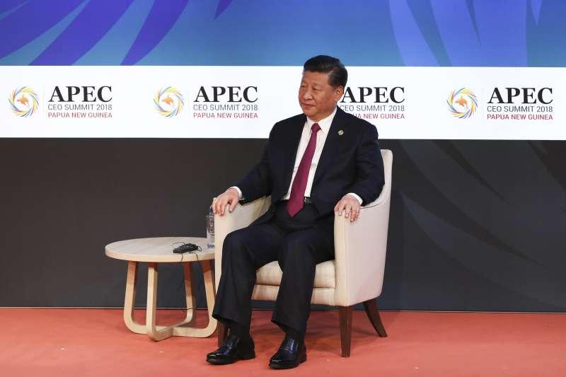 中國國家主席習近平參加2018年APEC峰會(AP)