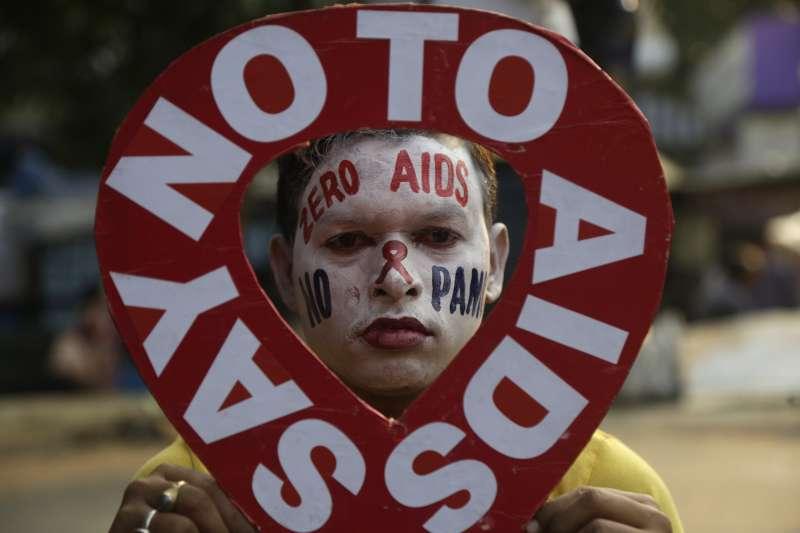 2018年12月1日,世界愛滋病日(AP)
