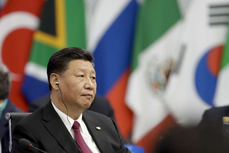 中國國家主席習近平2018年出席阿根廷G20峰會。(AP)