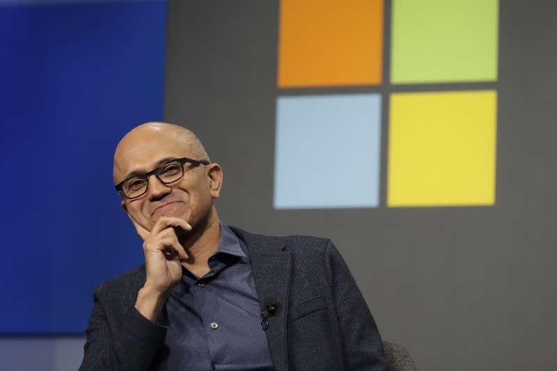 微軟在新執行長納德拉上任後,全力發展Azure雲端服務。(AP)