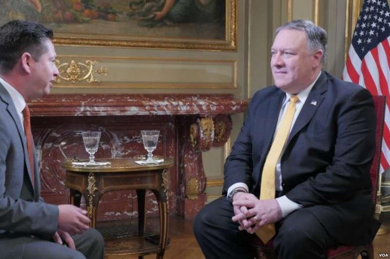 美國國務卿龐畢歐接受美國之音專訪,談中國進入拉美對美國的影響(美國之音)