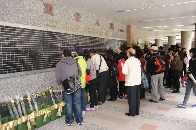 台灣2017年的大體器官(含組織)捐贈總人數已創下339人的歷史新高,每百萬人口捐贈率更從2.9竄升至14.4。圖為林口長庚醫院器官捐贈紀念區。(取自器官捐贈移植登錄中心臉書)