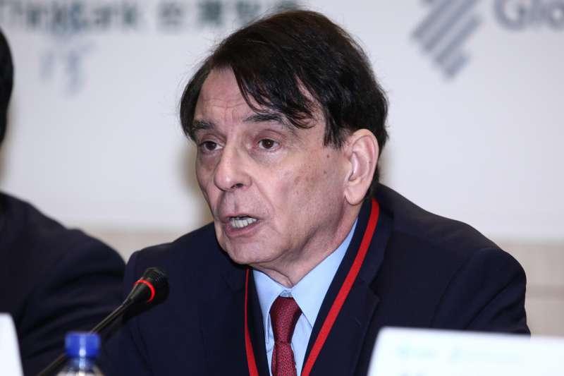 20181202-台灣智庫國際論壇「台美如何共同面對中國銳實力」?圖為司徒文。(蔡親傑攝)