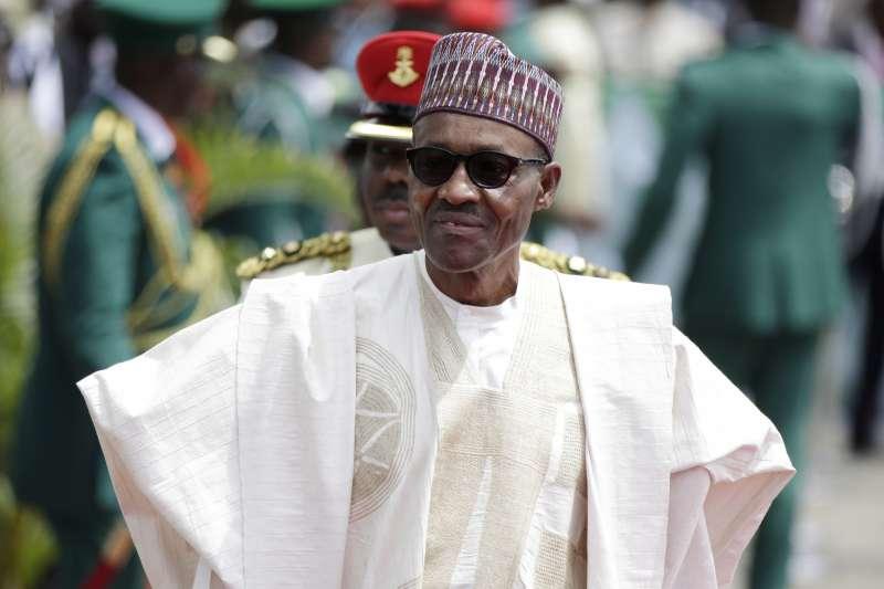 奈及利亞總統布哈里(AP)
