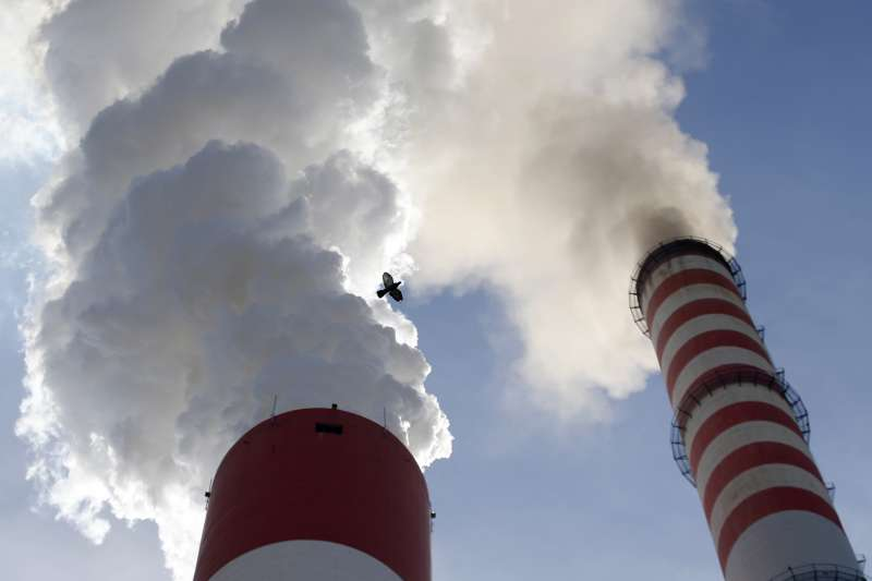 人類活動產生的溫室氣體加速全球暖化。(美聯社)