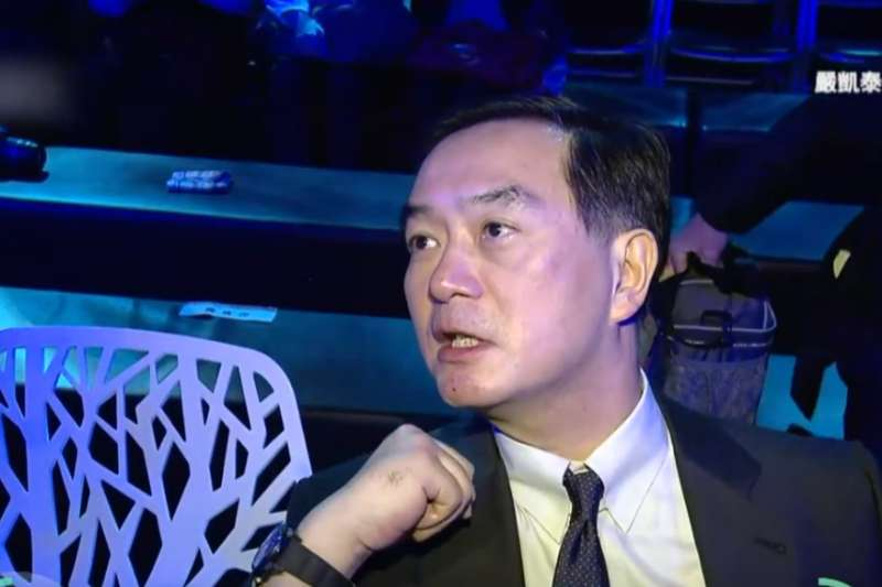裕隆集團董事長嚴凱泰因食道癌去世。(翻攝youtube頻道「EBC LIVE」)