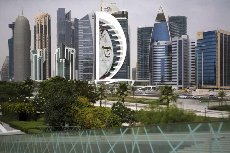 阿拉伯國家卡達首都杜哈。(AP)