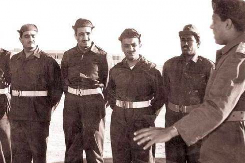 gggaE:第二次中東戰爭時期的埃及軍人。(取自維基百科)