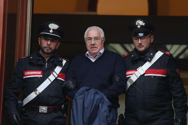 義大利西西里島黑手黨新領袖米內歐被捕(AP)