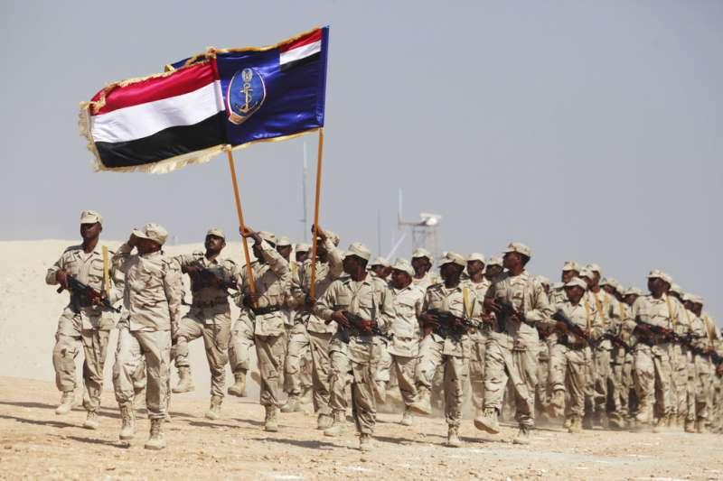 葉門內戰,葉門政府軍隊。(AP)