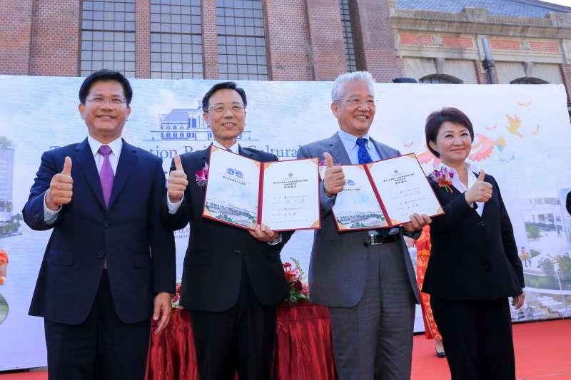 林佳龍、盧秀燕選後首度同框 正面交鋒鐵路「山手線」議題-風傳媒