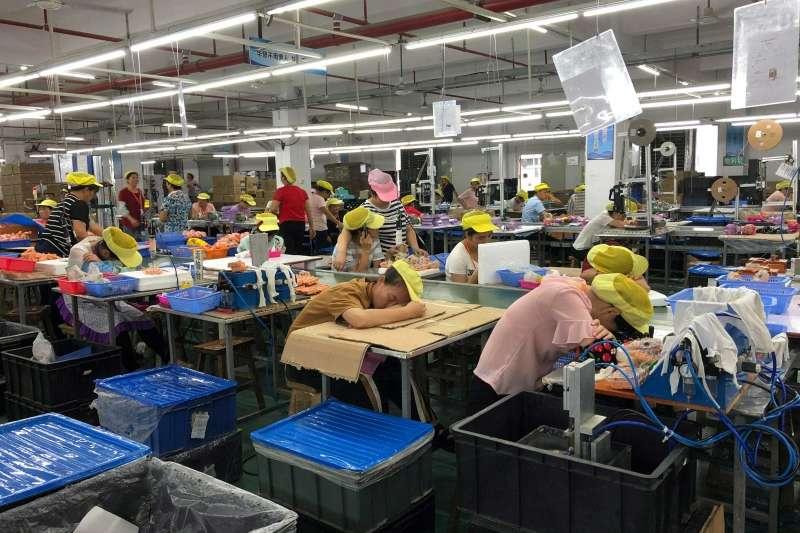 中國華登玩具工廠員工待遇違反玩具業責任規範。(圖取自Solidar Suisse網站)