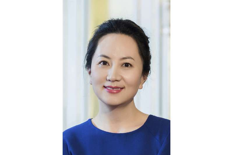 華為全球首席財務官(CFO)兼副董事長孟晚舟(AP)