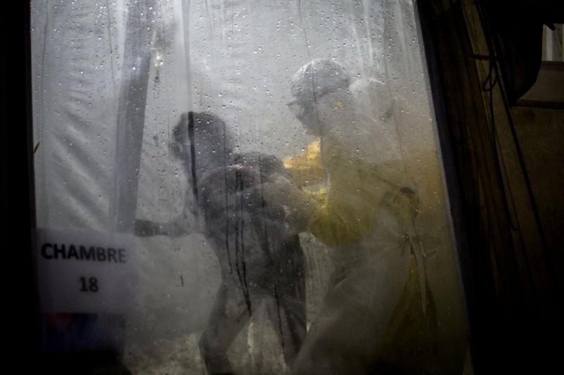剛果東北部爆發大量伊波拉疫情,疫情已從農村擴散到城市。(AP)