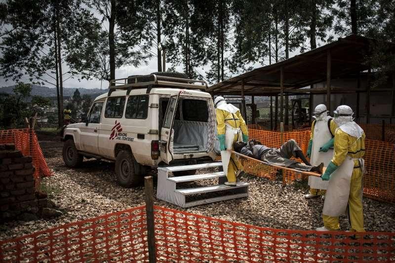 伊波拉疫情在2014到2016年間,在西非地區總共造成1.1萬人喪命。(AP)