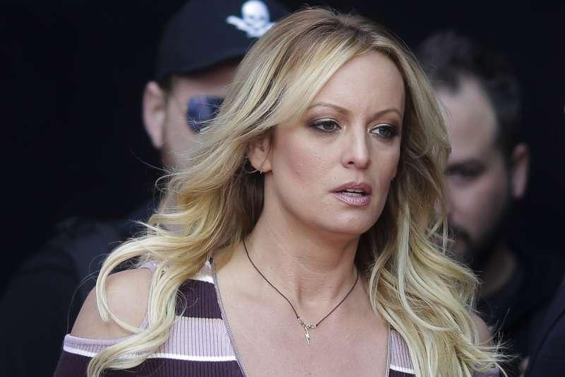 美國總統川普的婚外情對象,色情片女演員「暴風女丹妮絲」史蒂芬妮.柯莉佛(AP)