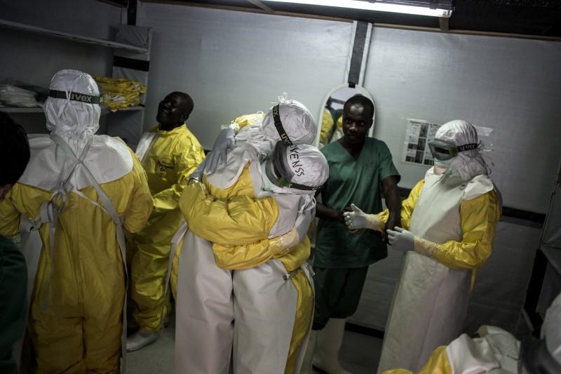 2018年非洲剛果民主共和國,爆發伊波拉出血熱病毒疫情(AP)