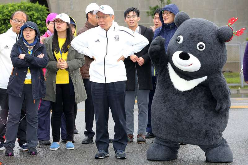 台北市長柯文哲8日晚說,禁止日本核災區食品進口到台灣unreasonable(不合理)。對此,柯文哲9日表示,台灣應思考「民粹跟民主那一條界線到底要怎麼劃」。(取自台北市政府)