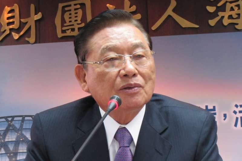 海基會前董事長江丙坤(Wikipedia / Public Domain)