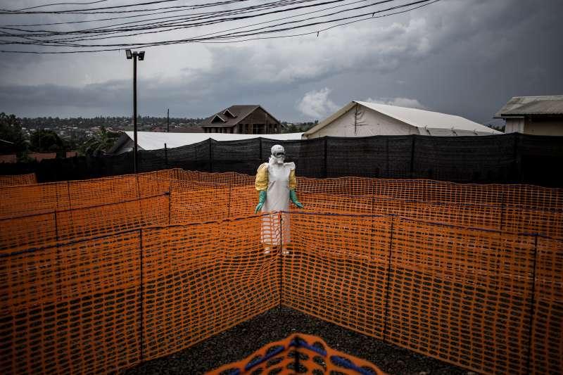 2018年剛果民主共和國伊波拉疫情爆發(AP)