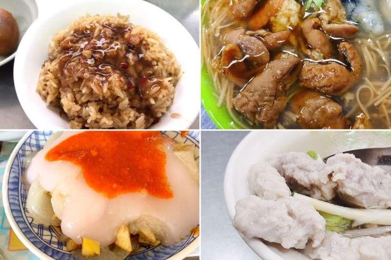 保安宮大龍峒附近有許多平價又美味的台灣美食,有些太早去吃不到,有些太晚來就賣光,各各都人氣爆棚阿!(圖/feikuo888、minowalk、foodmakesmehappy、feicai_dairy@instagram提供)