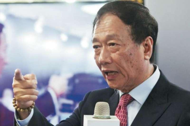 鴻海董事長郭台銘已開始針對2019年的全球市場,調整鴻海艦隊方向。(圖/陳俊松攝)
