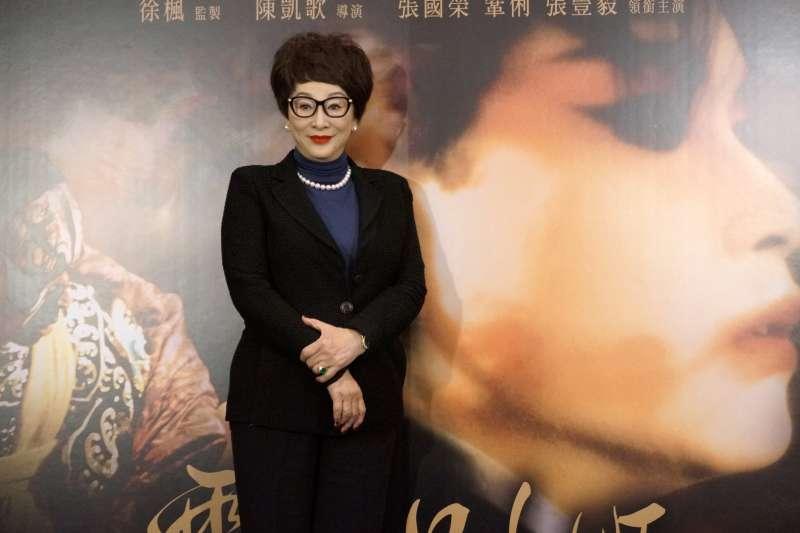 正逢25周年,華語經典電影《霸王別姬》數位修復版14日上映。圖為監製徐楓。(甲上娛樂提供)