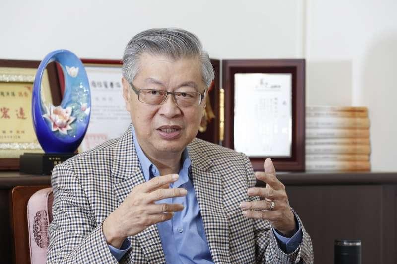 陳冲認為,《納保法》對「賦稅人權」的保護,是所有保護法中最少的。(圖/郭晉瑋攝)