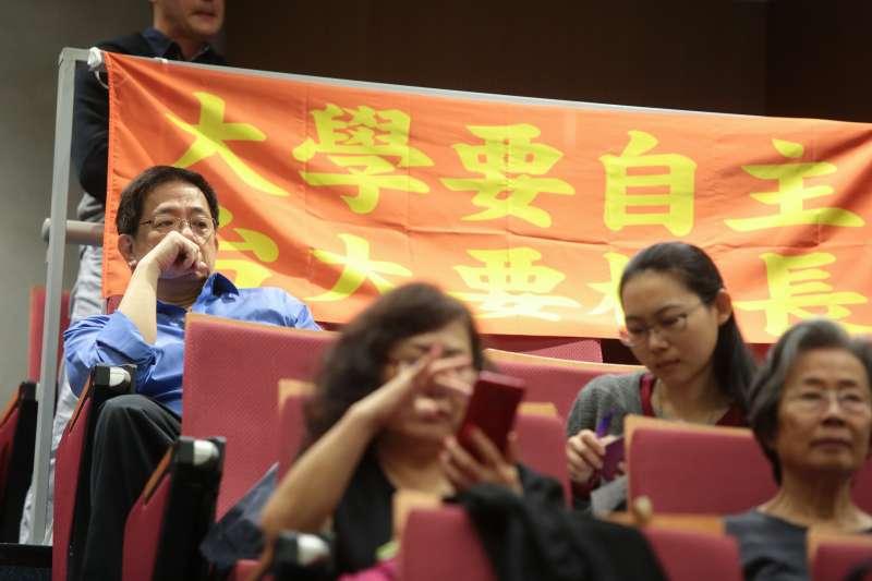 管中閔現身「還我校長」記者會 自主聯盟要葉俊榮到台大面對-風傳媒