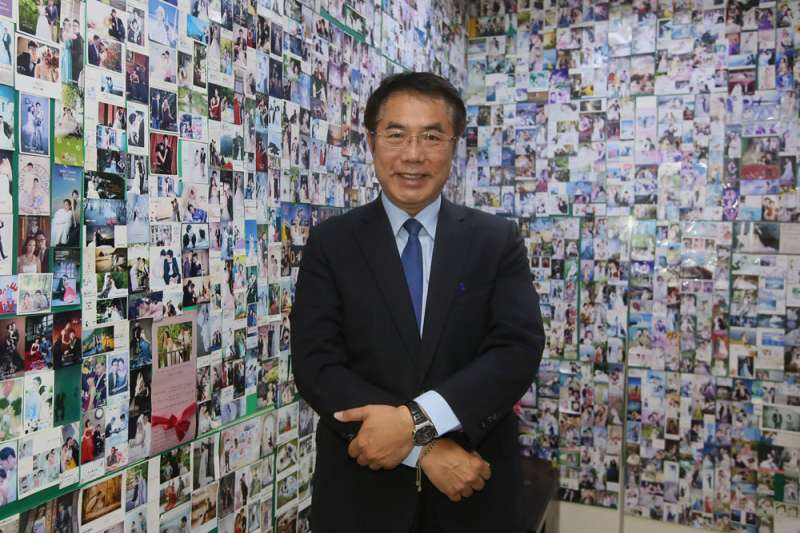 台南市長當選人黃偉哲18日公布最新小內閣名單,包括副市長人選及8位局處首長。(資料照,柯承惠攝)