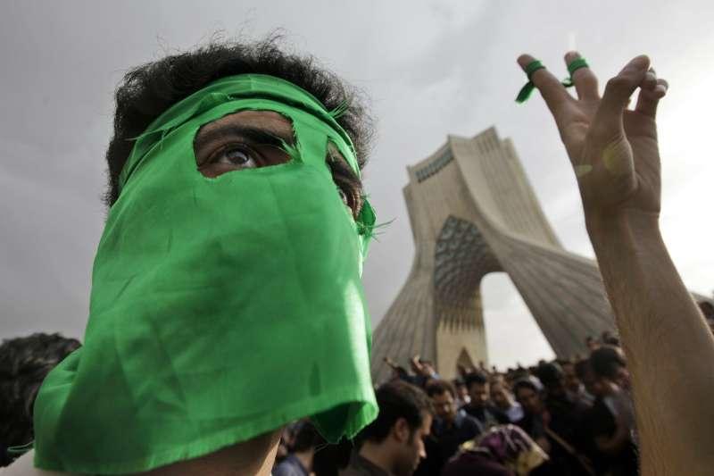 2009年伊朗「綠色革命」(AP)