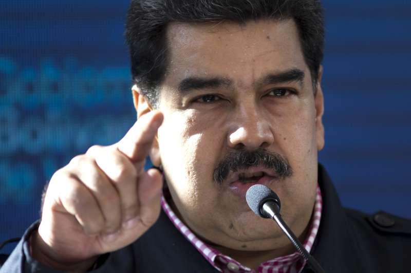 委內瑞拉總統馬杜洛痛罵美國策劃政變,意圖推翻他(AP)