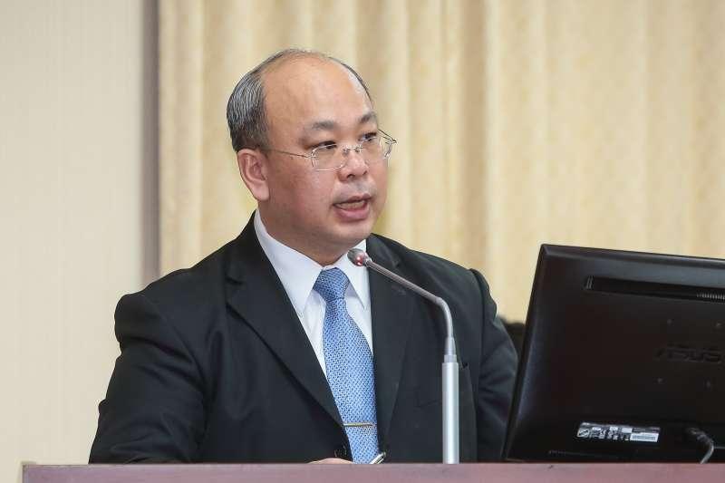 20181213-中選會代理主委陳朝建13日出席內政委員會。(顏麟宇攝)