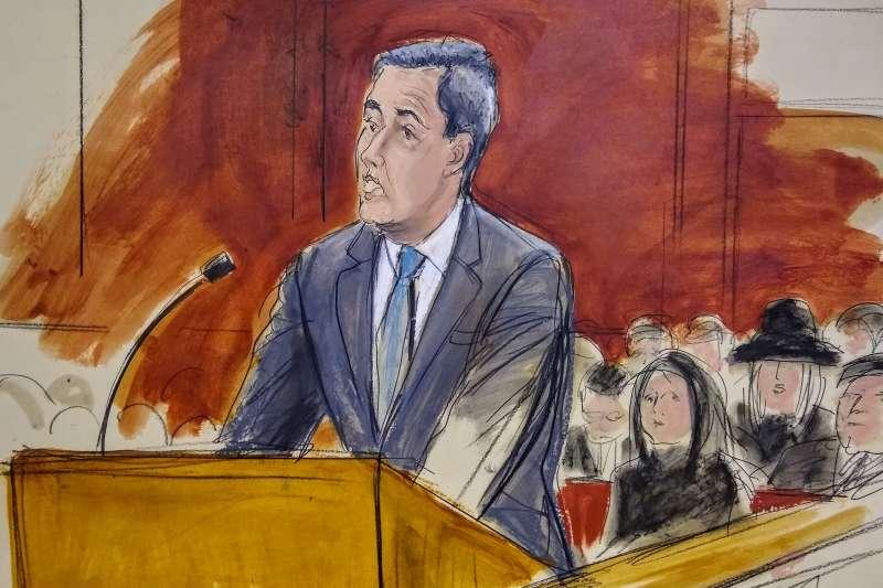 美國總統川普前私人律師柯恩被判3年徒刑(AP)