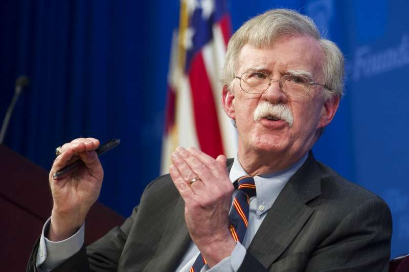 白宮國家安全顧問波頓提出「新非洲策略」,展現美要與中國在非洲大陸爭霸的企圖。(美聯社)