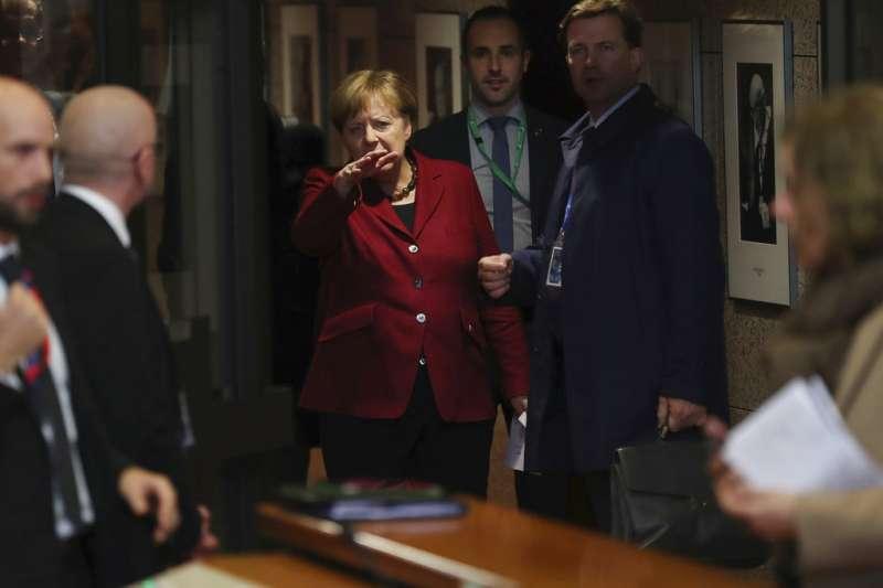 2018年12月13日,德國總理梅克爾。(AP)