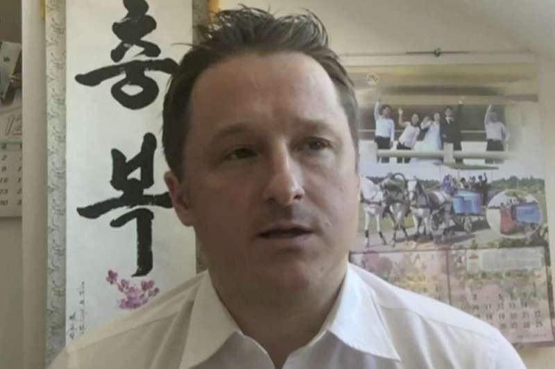 遭中國逮捕的加拿大商人斯帕佛(Michael Spavor)(AP)