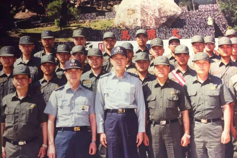 前參謀總長、陸軍一級上將羅本立(國防部發言人臉書)