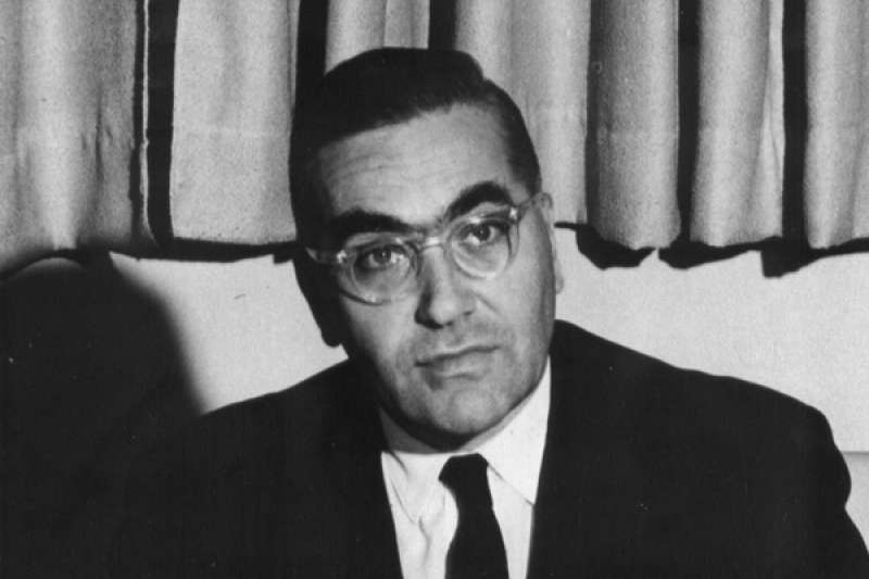 美國末代駐中華民國大使安克志(Leonard S. Unger)(喬治華盛頓大學)