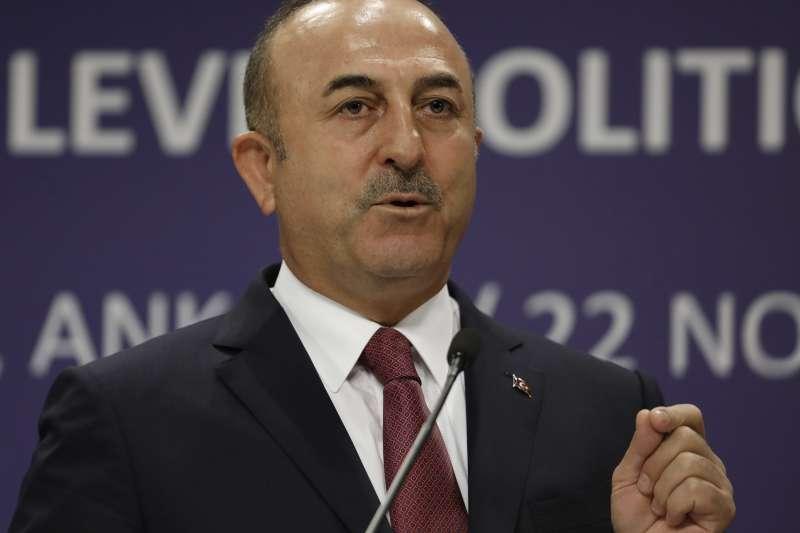 土耳其外交部長恰武什奧盧。(美聯社)
