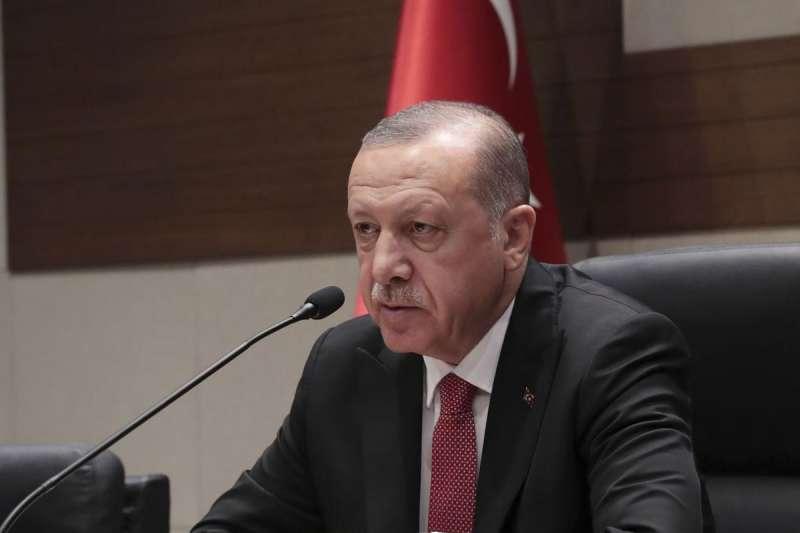 2018年11月29日,土耳其總統艾爾多安在阿根廷G20峰會。(美聯社)