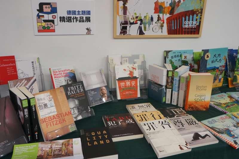 2019台北國際書展明年2月登場,18日公開來台國際作家名單。圖為德國館精選展出作品(台北書展基金會提供)