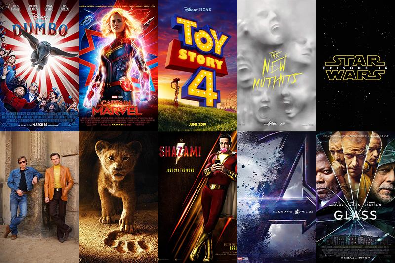 2019年必看強檔電影。(來源imdb,製圖風傳媒)
